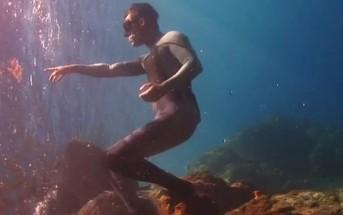 Plongée en apnée et illusions vidéo avec les Ocean Brothers
