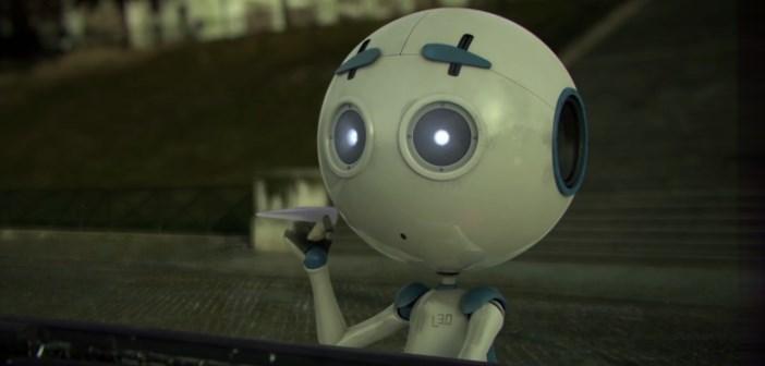 leo, le robot solitaire à Paris : court-métrage d'animation