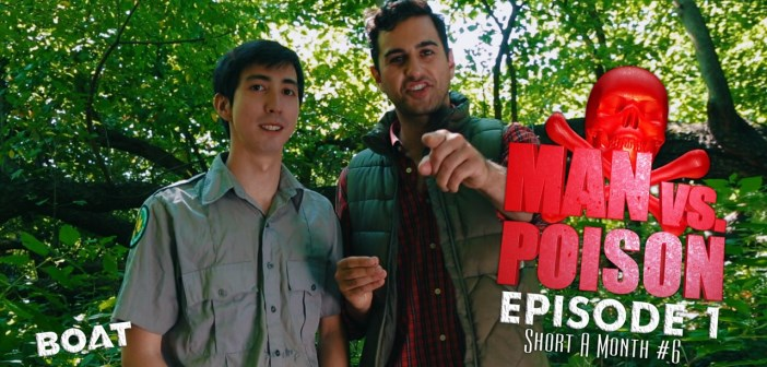 man vs poison, la parodie de man vs wild