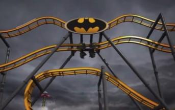 Un manège à sensations futuriste en 4D inspiré de Batman