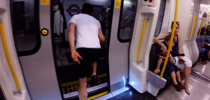 race the tube : un course contre le métro à Londres