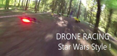 FPV racing : la course de drones à la star wars par Airgonay