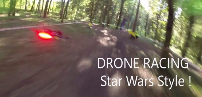 FPV racing : la course de drones à la star wars par Airgonay