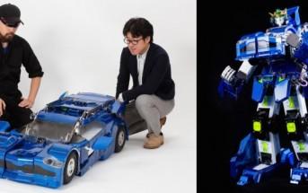 Vidéo : 2 Japonais créent un robot Transformer fonctionnel