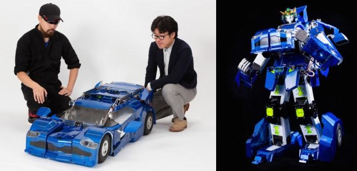 J-deite : le robot transformers réel créé par 2 japonais
