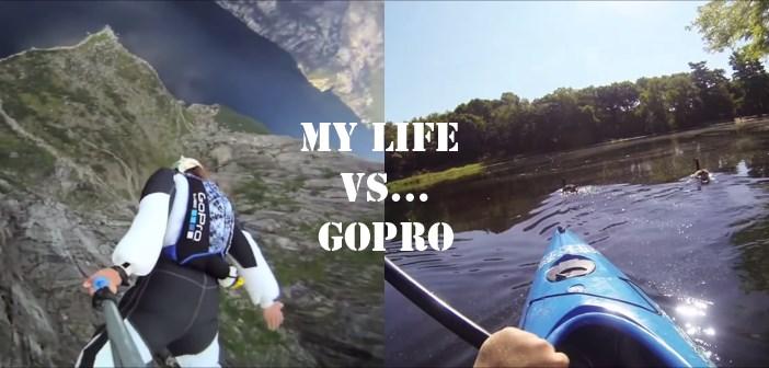 My Life Vs GoPro : parodie
