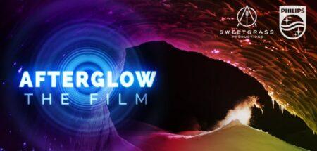 aftergow : le film de ski de nuit avec lumiere led