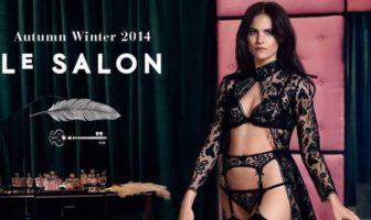 agent provocateur : le salon 'house rules' _ lingerie automne hiver 2014