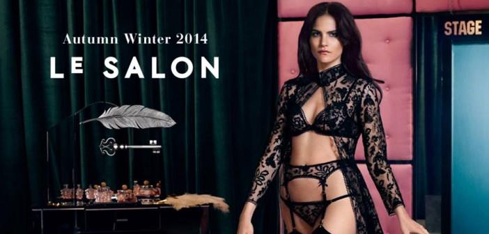 agent provocateur : le salon'house rules' _ lingerie automne hiver 2014