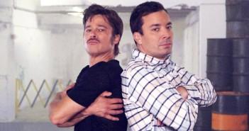 battle de breakdance Brad Pitt vs Jmmy Fallon
