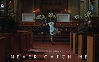 Clip : Flying Lotus – Never Catch Me ft Kendrick Lamar