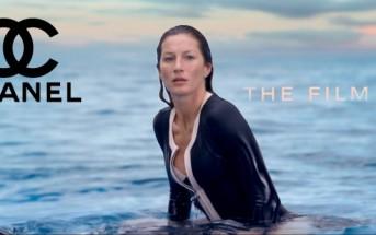 Gisele Bündchen, la surfeuse glamour du film Chanel N°5 2014