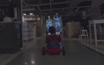 Ikea Singapour s'inspire de Shining pour un clip d'halloween