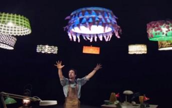 Une interaction fantastique entre humain et drones par le Cirque du Soleil