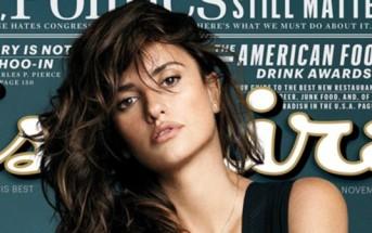 Penélope Cruz élue femme la plus sexy en 2014 par Esquire