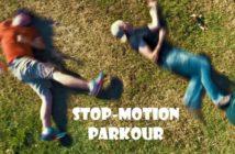 stop-motion parkour : le freerun fcile par corridor digital