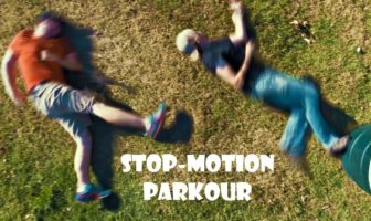 stop-motion parkour : le freerun fcile par corridor digital