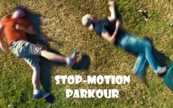 Stop-motion parkour : faire du freerun sans être sportif
