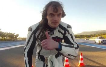 François Gissy, le recordman de vitesse sur un vélo fusée