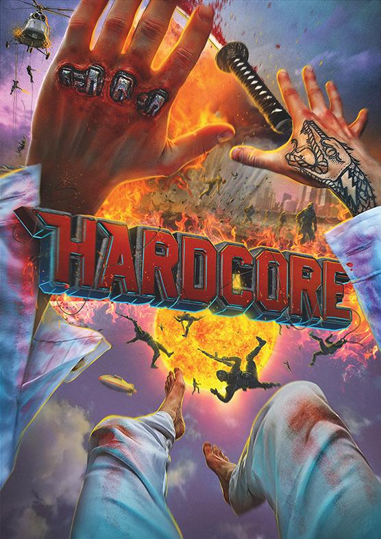 affiche du film hardcore