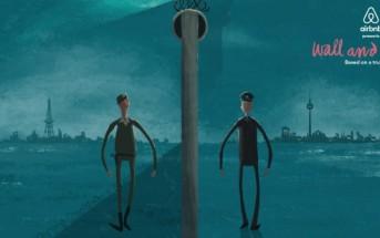 Une animation émouvante d'Airbnb pour les 25 ans de la chute du mur de Berlin