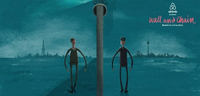 """aibnb """"wall and chain"""", le film d'aniation sur la chute du mur de Berlin"""