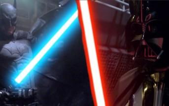 Batman vs Darth Vader : une bataille de super pouvoirs épique
