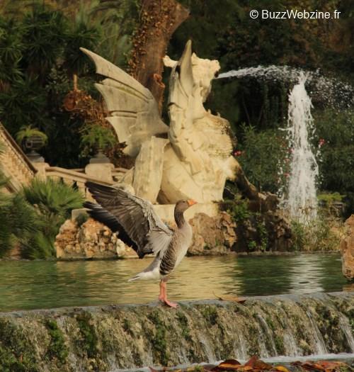 cascade gaudi au parc de la cuitadella à barcelone