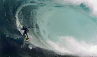 du surfen slow motion à 1000 images par seconde