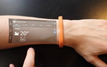 Cicret Bracelet : le smatphone holographique du futur