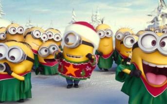 Les Minions vous souhaitent un Joyeux Noël