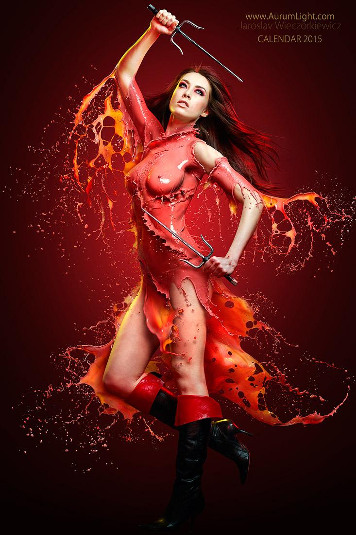 Splash Heroes calendrier 2015 : Miss juin Jay Jessop