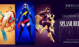Splash Heroes : le calendrier sexy 2015 des super-héroïnes liquides