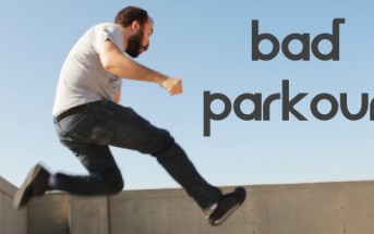 Bad Parkour : un mec normal parodie les vidéos de freerun