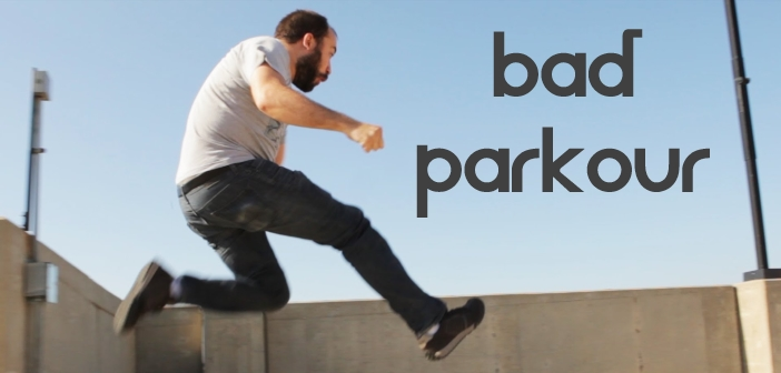 bad parkour : parodie de freerun