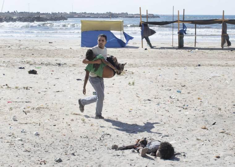 7/ Tyler Hicks. Gaza. 16 juillet 2014.