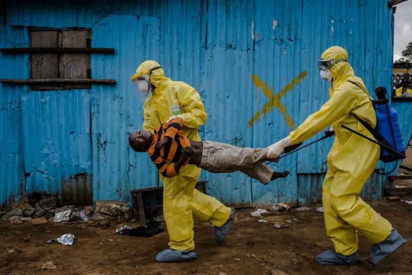 3/ Daniel Berehulak. Monrovia, Liberia. 5 septembre 2014.