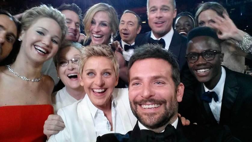 1/ Ellen DeGeneres. Hollywood, Califormnia. 2 mars 2014