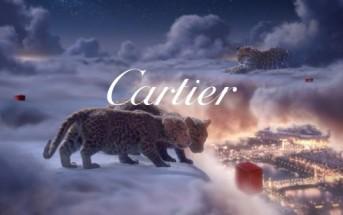Winter Tale : pub de Noël Cartier avec des bébés panthères
