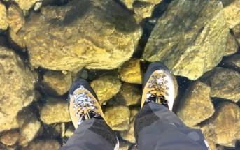 Vidéo : il marche sur un lac gelé transparent en Slovaquie