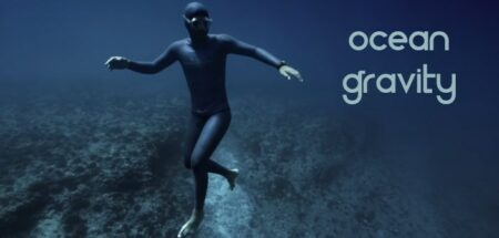 ocean gravity avec l'apnéiste Guillaume Néry