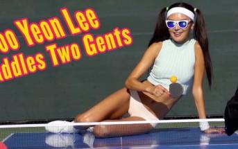 Un match de ping-pong sexy avec Soo Yeon Lee pour Playboy