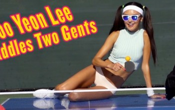 ping-pong sexy : Soo Yeon Lee playboy