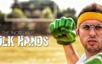 Hulk Hands : attention à la revanche du nerd [Court métrage]