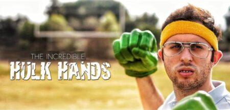 The Incredible Hulk Hands