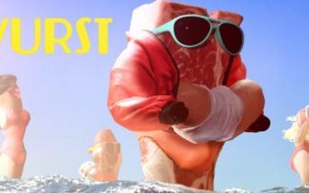 Wurst : une parodie d'alerte à Malibu version saucisse [stop motion]