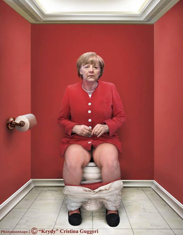 Angela Merkel, Chancelière fédérale allemande sur les cabinets