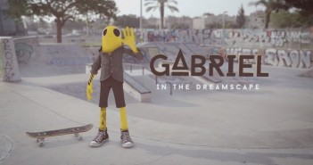 Gabriel In The Dreamscape : un cartoon skate dans la vraie vie