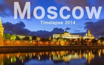 Voyagez à Moscou en vidéo avec un Timelapse et un Hyperlapse