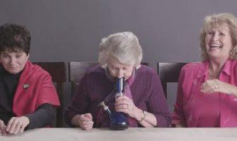 3 mamies fument du cannabis
